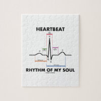 Heartbeat Rhythm Of My Soul (Electrocardiogram) Puzzle