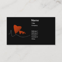 Heartbeats Business Card
