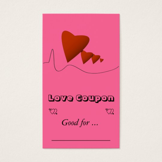 Heartbeats Business Card
