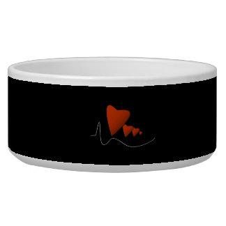 Heartbeats Dog Food Bowls
