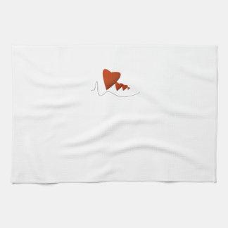 Heartbeats Hand Towel