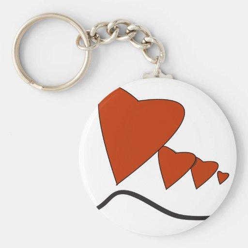 Heartbeats - Key Chain