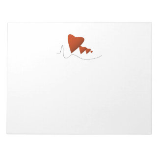 Heartbeats Note Pad