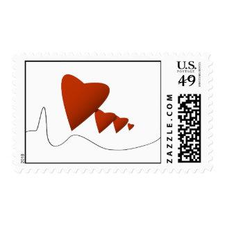 Heartbeats Postage