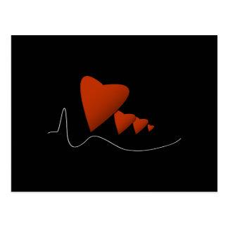 Heartbeats Postcard