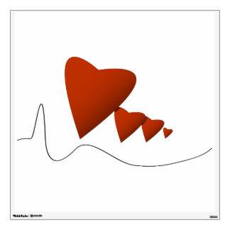Heartbeats Wall Decal