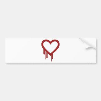 heartbleed-378010  heartbleed heart bleeding broke bumper sticker