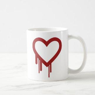 Heartbleed - High Quality Logo Classic White Coffee Mug