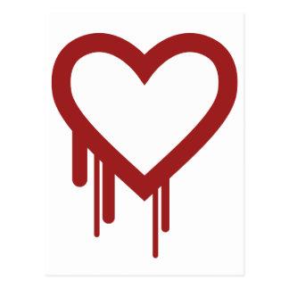 Heartbleed - High Quality Logo Postcard