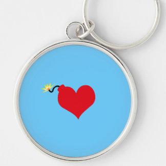 HeartBomb Keychains