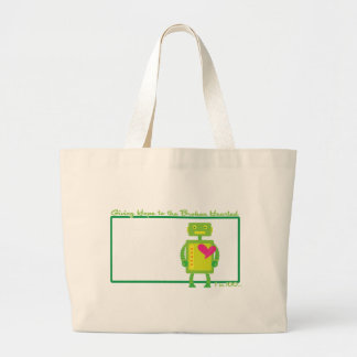 HeartBot 2 Tote Bags