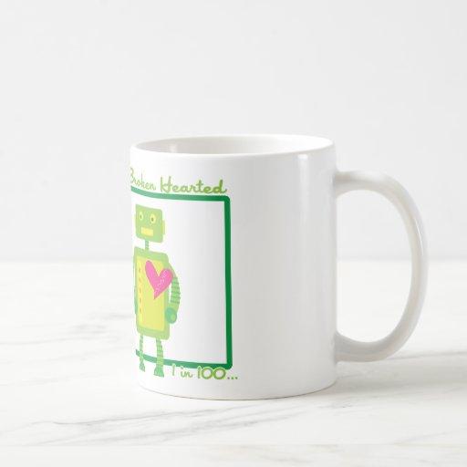 HeartBot 2 Classic White Coffee Mug