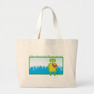 HeartBot Tote Bag