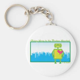 HeartBot Keychain