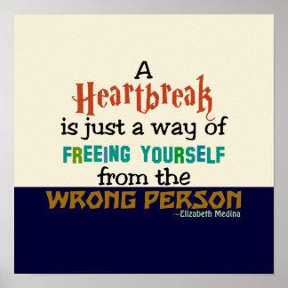 Heartbreak CHANGE COLOR Poster