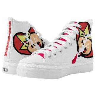 Heartbreakahh Printed Shoes