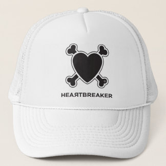 Heartbreaker (black) trucker hat