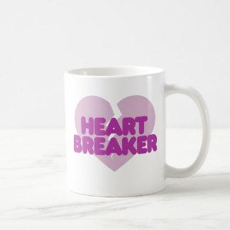 Heartbreaker cute purple heart coffee mug