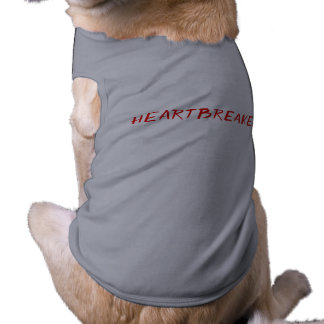 Heartbreaker dog tank top shirt