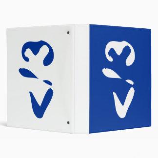 Heartbreaker emoticon 3 ring binder