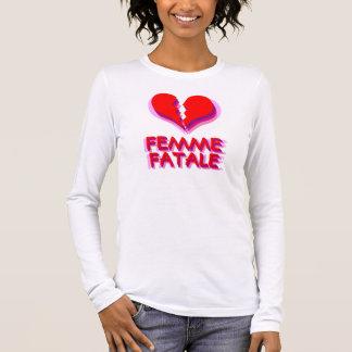 Heartbreaker Femme Fatale Vectorial Long Sleeve T-Shirt