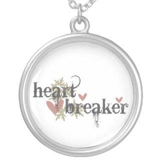 Heartbreaker Silver Plated Necklace
