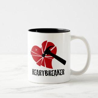 Heartbreaker Two-Tone Coffee Mug