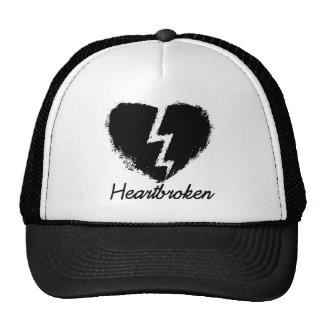 Heartbroken Anti Valentine's Day Mesh Hats