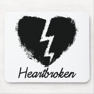 Heartbroken Anti Valentine's Day Mouse Mats