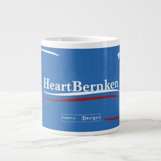 Heartbroken Bernie Sanders Heartbernken Giant Coffee Mug