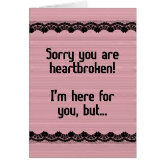 Heartbroken Card