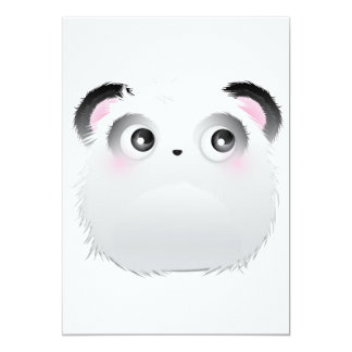 Heartbroken Panda Furry Monster Card