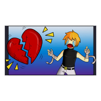 Heartbroken   TAOFEWA manga comic Kenneth Poster
