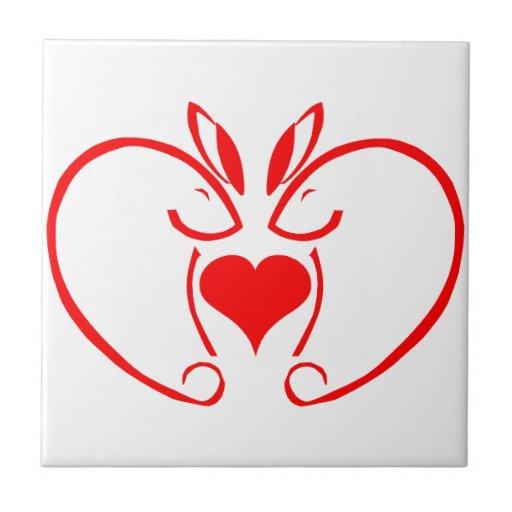 heartbunny1 azulejos