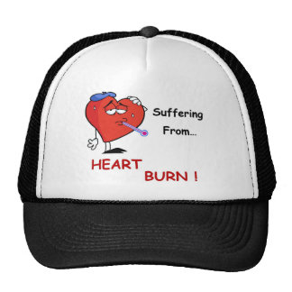 heartburn full trucker hat