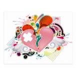 Heartburn Postcard