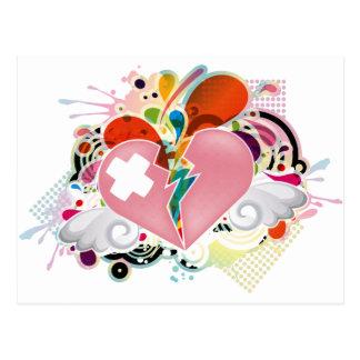 Heartburn Post Card