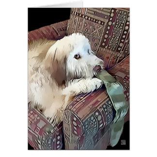 heARTdog Whoodle de MALACHI Tarjeta