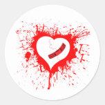 Hearted quebrado… otra vez pegatinas