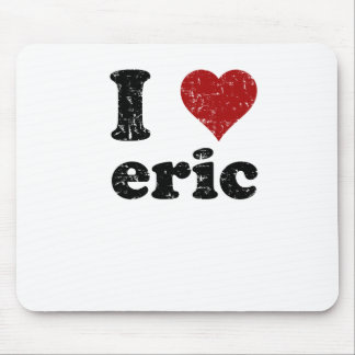 hearteric_black mouse pad