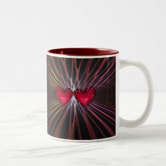 Hearteries Two-Tone Coffee Mug