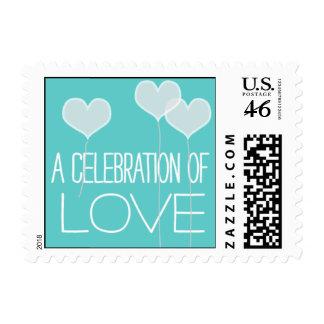 Heartfelt - A Celebration of Love - Blue Postage
