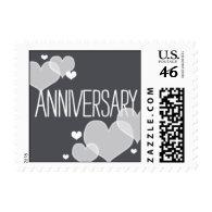 Heartfelt - Anniversary - Gray Postage