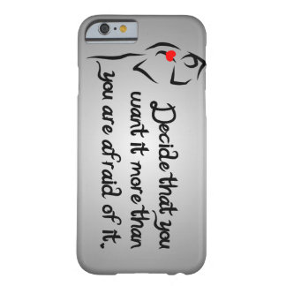 Heartfelt-Decide That You Want it Dance Barely There iPhone 6 Case