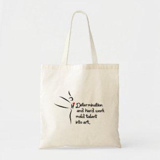 Heartfelt-Determination Dance Budget Tote Bag