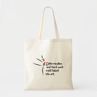 Heartfelt-Determination Dance Tote Bag