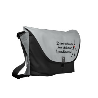 Heartfelt-Do Your Work Dance Messenger Bag