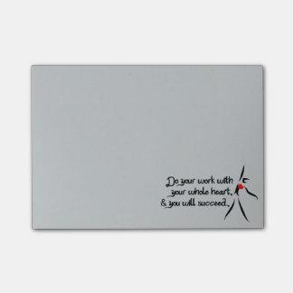 Heartfelt-Do Your Work Dance Post-it® Notes