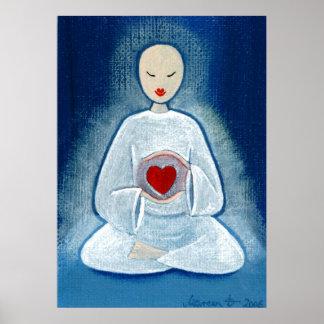 """""""Heartfelt Enlightenment"""" Print"""