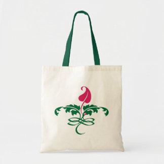 Heartfelt Floral Tote Bag